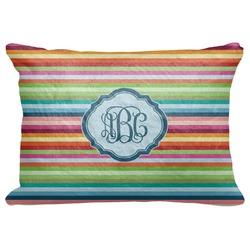 "Retro Horizontal Stripes Decorative Baby Pillowcase - 16""x12"" (Personalized)"