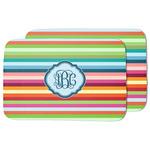 Retro Horizontal Stripes Dish Drying Mat (Personalized)