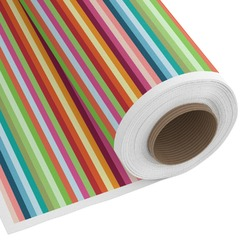 Retro Horizontal Stripes Custom Fabric by the Yard (Personalized)