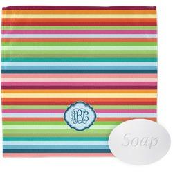 Retro Horizontal Stripes Wash Cloth (Personalized)