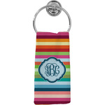 Retro Horizontal Stripes Hand Towel - Full Print (Personalized)