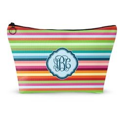 Retro Horizontal Stripes Makeup Bags (Personalized)