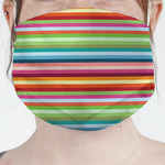 Retro Horizontal Stripes Face Mask Cover (Personalized)