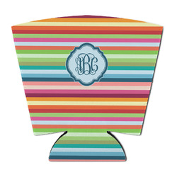Retro Horizontal Stripes Party Cup Sleeve (Personalized)