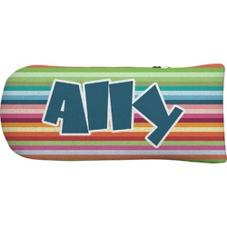 Retro Horizontal Stripes Putter Cover (Personalized)