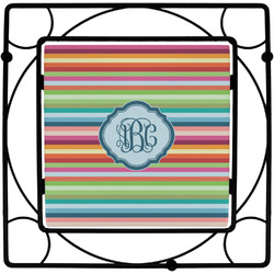 Retro Horizontal Stripes Trivet (Personalized)