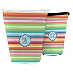 Retro Horizontal Stripes Waste Basket (Personalized)