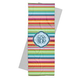 Retro Horizontal Stripes Yoga Mat Towel (Personalized)
