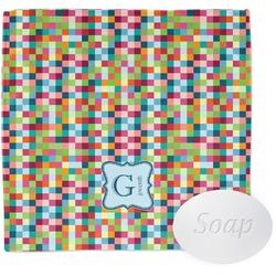 Retro Pixel Squares Wash Cloth (Personalized)