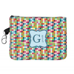 Retro Pixel Squares Golf Accessories Bag (Personalized)
