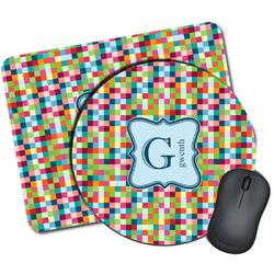 Retro Pixel Squares Mouse Pads (Personalized)