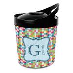 Retro Pixel Squares Plastic Ice Bucket (Personalized)