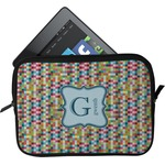 Retro Pixel Squares Tablet Case / Sleeve (Personalized)