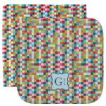 Retro Pixel Squares Facecloth / Wash Cloth (Personalized)