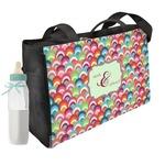 Retro Fishscales Diaper Bag (Personalized)