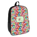 Retro Fishscales Kids Backpack (Personalized)