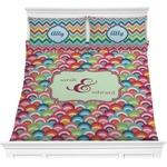 Retro Fishscales Comforters (Personalized)