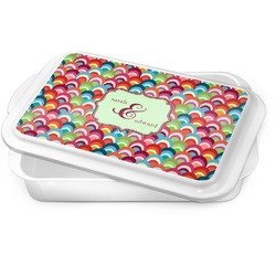 Retro Fishscales Cake Pan (Personalized)