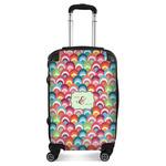Retro Fishscales Suitcase (Personalized)
