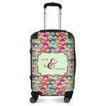 Retro Fishscales Suitcase (Personalized)