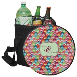 Retro Fishscales Collapsible Cooler & Seat (Personalized)