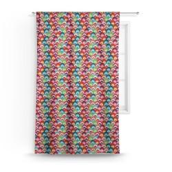 Retro Fishscales Curtain (Personalized)