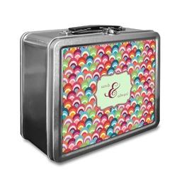 Retro Fishscales Lunch Box (Personalized)