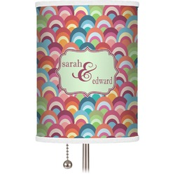 Retro Fishscales Drum Lamp Shade (Personalized)