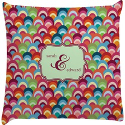 Retro Fishscales Decorative Pillow Case (Personalized)