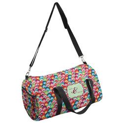 Retro Fishscales Duffel Bag - Multiple Sizes (Personalized)
