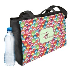 Retro Fishscales Ladies Workout Bag (Personalized)
