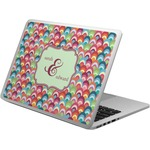 Retro Fishscales Laptop Skin - Custom Sized (Personalized)