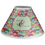 Retro Fishscales Coolie Lamp Shade (Personalized)
