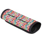 Retro Fishscales Luggage Handle Cover (Personalized)