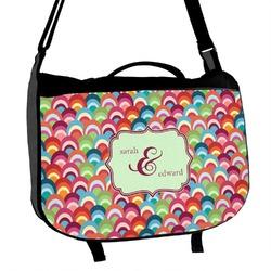 Retro Fishscales Messenger Bag (Personalized)
