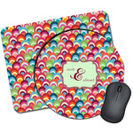 Retro Fishscales Mouse Pads (Personalized)