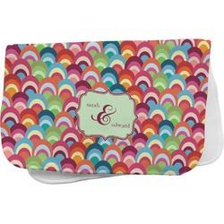 Retro Fishscales Burp Cloth (Personalized)