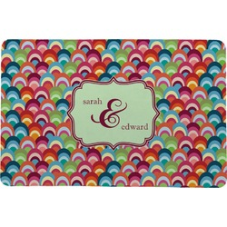 Retro Fishscales Comfort Mat (Personalized)