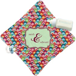 Retro Fishscales Security Blanket (Personalized)