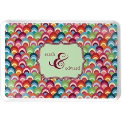 Retro Fishscales Serving Tray (Personalized)