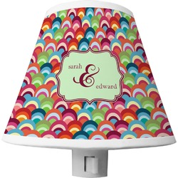 Retro Fishscales Shade Night Light (Personalized)