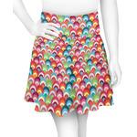 Retro Fishscales Skater Skirt (Personalized)