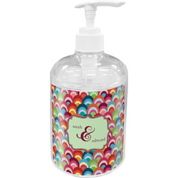 Retro Fishscales Soap / Lotion Dispenser (Personalized)