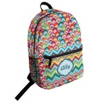 Retro Fishscales Student Backpack (Personalized)