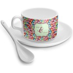 Retro Fishscales Tea Cups (Personalized)
