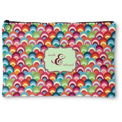 Retro Fishscales Zipper Pouch (Personalized)
