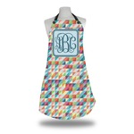 Retro Triangles Apron (Personalized)