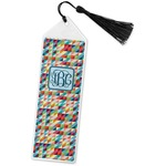 Retro Triangles Book Mark w/Tassel (Personalized)