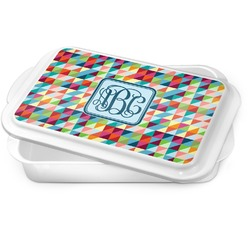 Retro Triangles Cake Pan (Personalized)