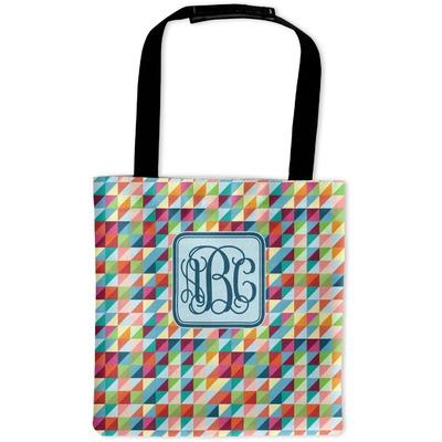 Retro Triangles Auto Back Seat Organizer Bag (Personalized)